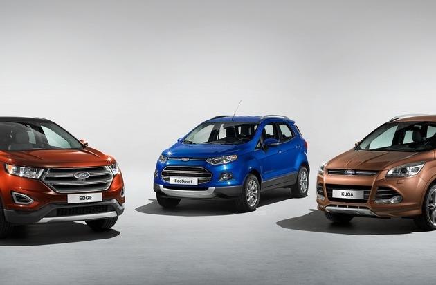 """Ford-Werke GmbH: Einladung zum Ford-""""Webinar"""" über SUVs und Allradantrieb"""