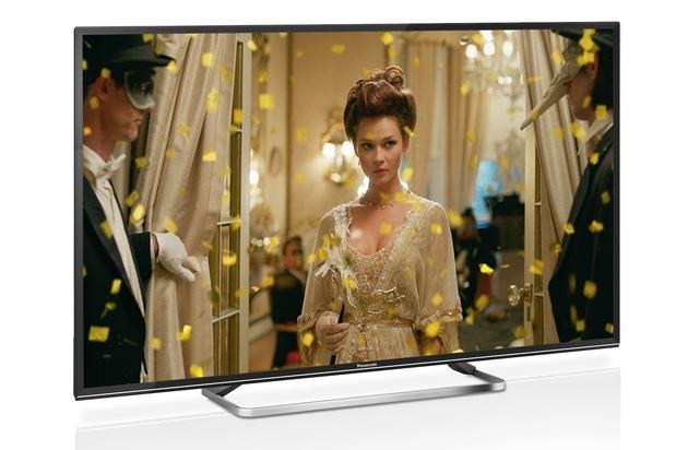 BILD: Stilvolles Heimkino-Erlebnis mit der Panasonic ESW504-Serie / Smart LED-TVs in jeder Größe mit flexiblem und zukunftssicherem TV-Empfang, USB-Aufnahmefunktion, Internet-Apps und Webbrowser (FOTO)