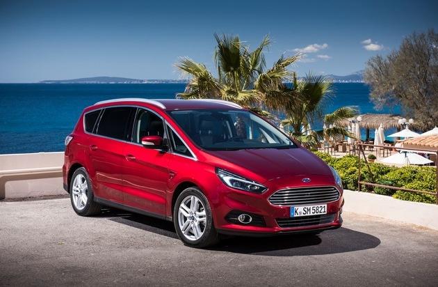 Ford-Werke GmbH: Starke Flotte: Ford erzielt im ersten Halbjahr rund 30 Prozent Plus bei gewerblichen Neuzulassungen
