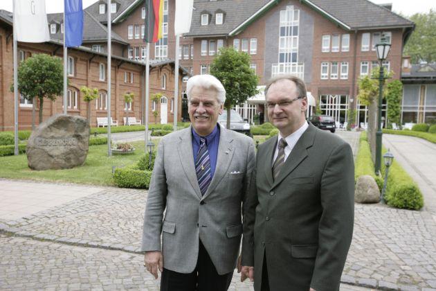 Auf Einladung von Wirtschaftsminister Haseloff: Raumfahrtwissenschaftler und NASA-Manager von Puttkamer zu Besuch in Sachsen-Anhalt