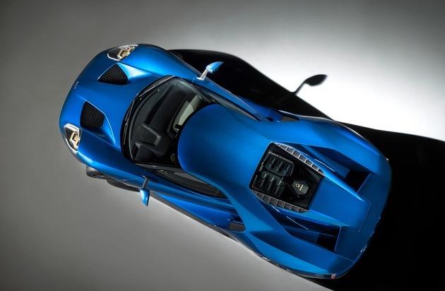 Ford-Werke GmbH: Gorilla-Glas-Technologie debütiert beim neuen Ford GT