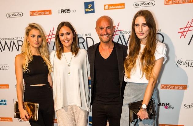 Hashmag: Modeunternehmen mit Blogger Look of the year Award 2016 ausgezeichnet