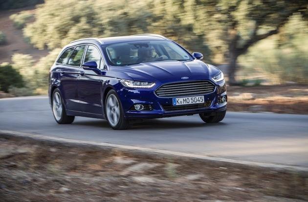 Ford-Werke GmbH: Ford Mondeo, S-MAX und Galaxy mit Verbesserungen in das neue Modelljahr
