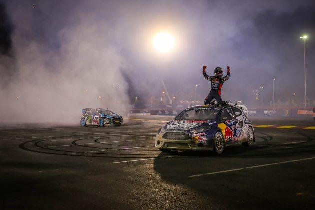Ford Fiesta ST-Pilot Joni Wiman gewinnt den Meistertitel in der Global RallyCross Championship