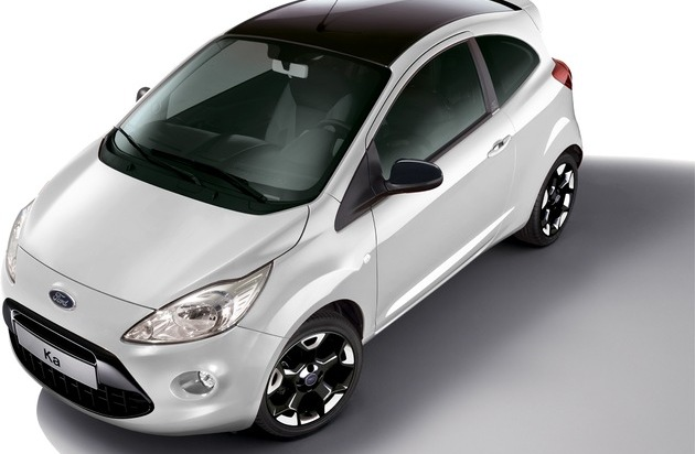 "Ford-Werke GmbH: Ford Ka mit neuem Individual-Paket ""Black & White Edition"""