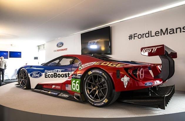 Ford-Werke GmbH: Ford Chip Ganassi Racing Team startet beim 6-Stunden-Rennen von Silverstone in die Langstrecken-WM-Saison