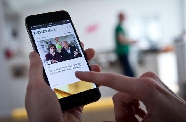 news aktuell GmbH: PR-Inhalte immer und überall: Neue Version von Presseportal.de für Smartphones ist online