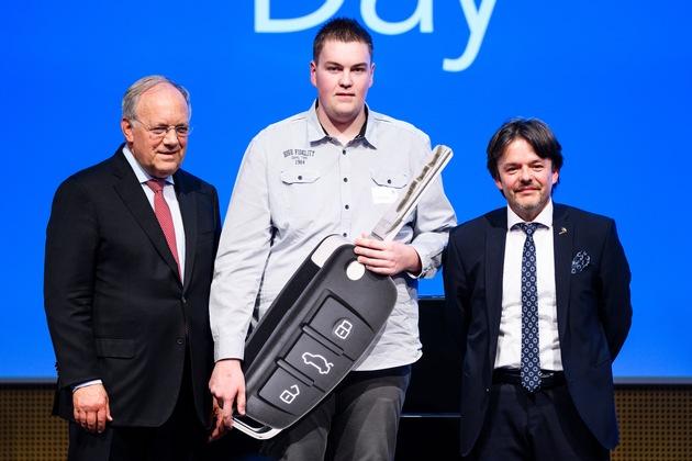 Mario Eggerschwiler remporte le Debrunner Acifer Trophy