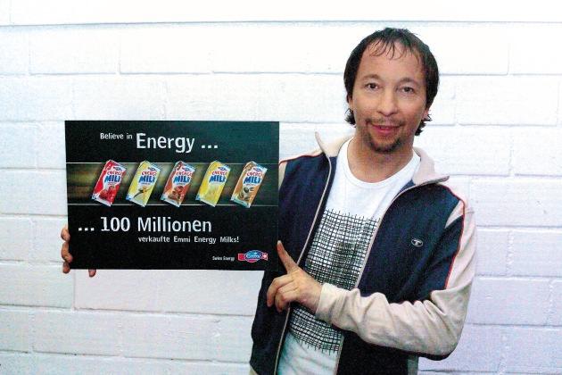 100 Millionen Emmi Energy Milk: Der SchweizerInnen liebster Milchdrink!