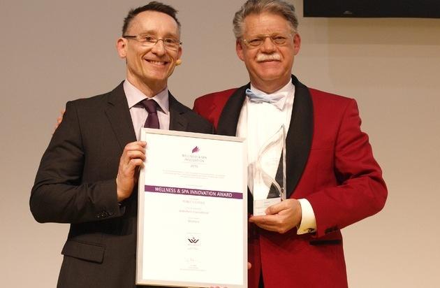 """Jentschura International GmbH: Deutscher Wellness-Verband zeichnet P. Jentschura-Produkt """"MiraVera"""" mit dem """"Wellness & Spa Innovation Award 2015"""" aus"""