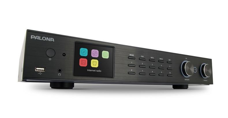 Palona TUNER 190C: Hifi-Tuner mit Internetradio/DAB+/Spotify/und, und, und...