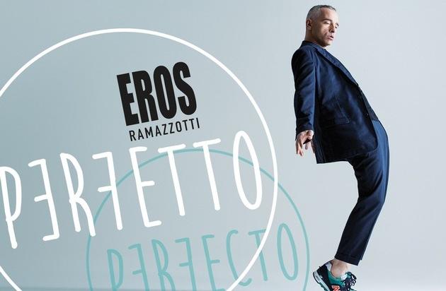 "Universal International Division: Eros Ramazzotti präsentiert sein neues Album ""Perfetto"""