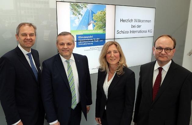 Schüco International KG: Globaler Klimawandel und Stadtentwicklung: Welche Chancen bieten sich der Wirtschaft?