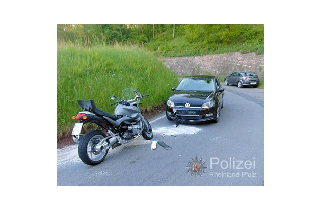 POL-PPWP: Queidersbach/Weselberg: In der Kurve überholt ... - Presseportal.de (Pressemitteilung)