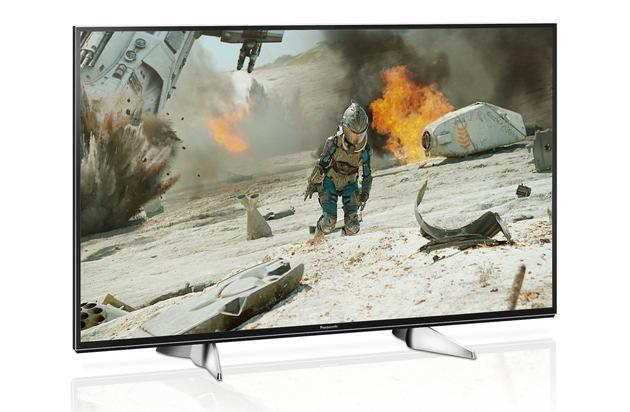 BILD: Smarter 4K LED TV mit HDR und Design nach Maß / Panasonic EXW604: Der perfekte Einstieg ins 4K Zeitalter mit Quattro-Tuner, TV>IP, DVB-T2 HD und smarten Komfortfunktionen (FOTO)
