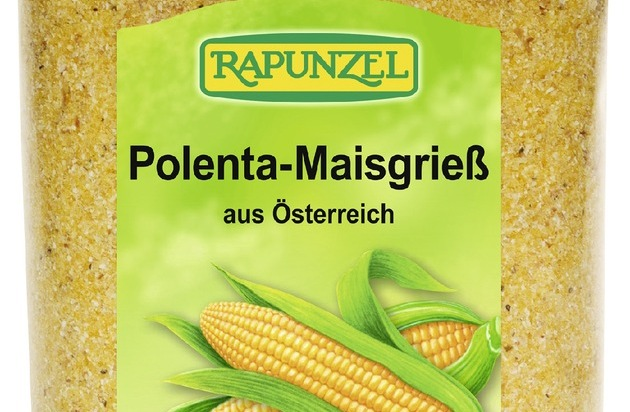 Rapunzel Naturkost GmbH: Rückruf Rapunzel Maisgrieß Polenta und Minutenpolenta
