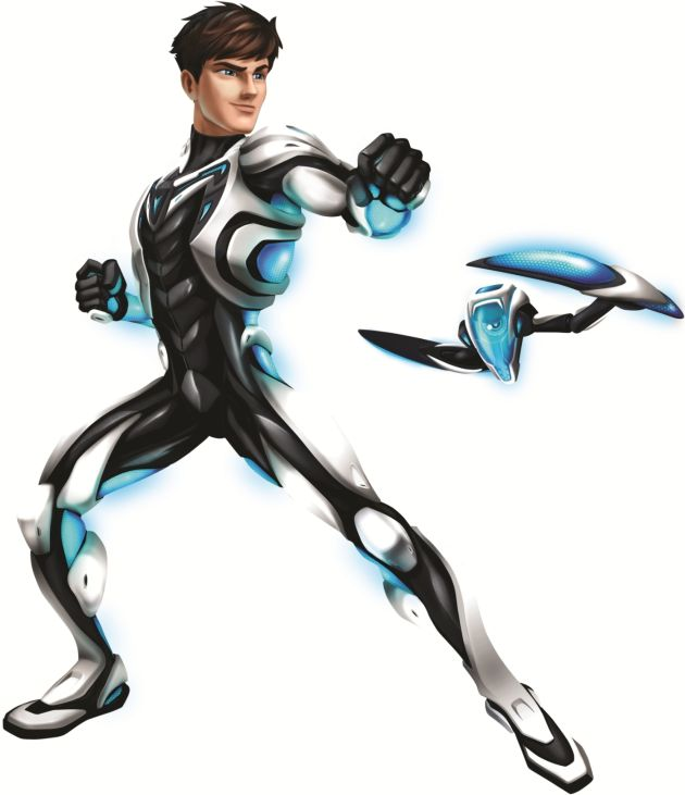 Mattel stellt neuen Superhelden vor: Max Steel (BILD)