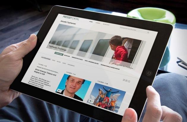 news aktuell GmbH: Presseportal.de auf Rekordkurs - Nachfrage nach PR-Content so hoch wie noch nie