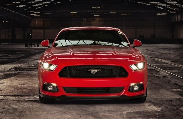 Ford-Werke GmbH: Neuer Mustang spurtet in unter fünf Sekunden auf 100 km/h - bereits 2.200 Vorbestellungen in Europa