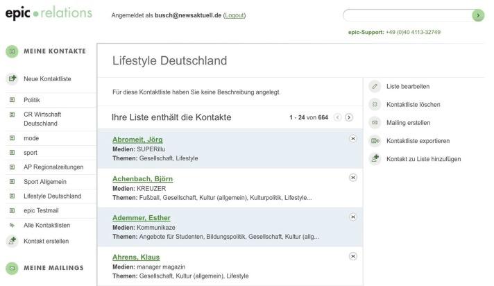 news aktuell lanciert intuitiv bedienbare PR-Software