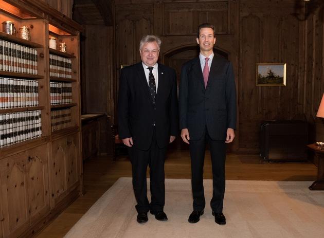 ikr: ODIHR-Direktor Michael Georg Link in Liechtenstein