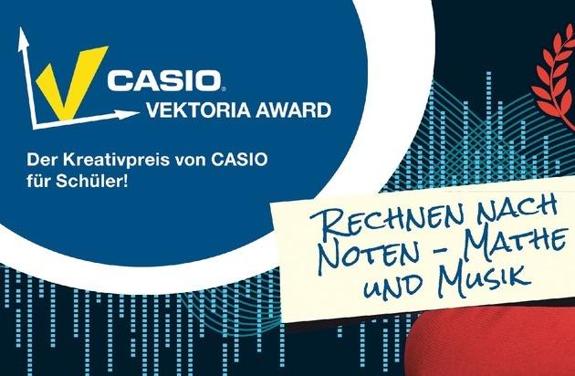 CASIO Europe GmbH: Vektoria Award: Schülerinnen und Schüler zeigen, dass Mathe rockt! / Beim Schülerwettbewerb von Casio werden die besten Video-Clips zum Thema Mathe und Musik mit 3.000 Euro Preisgeld prämiert