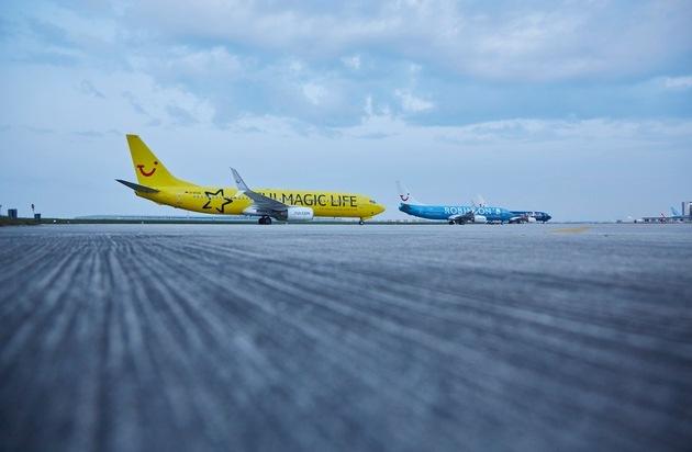 TUI AG: TUI Hotels über den Wolken / TUI präsentiert fliegende Markenbotschafter / TUI Group wirbt auf konzerneigenen Flugzeugen für die Kernmarken im Hotelbereich