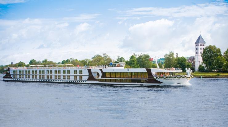 Das Schweizer Schiff Excellence Princess ist bestes Flussschiff des Jahres