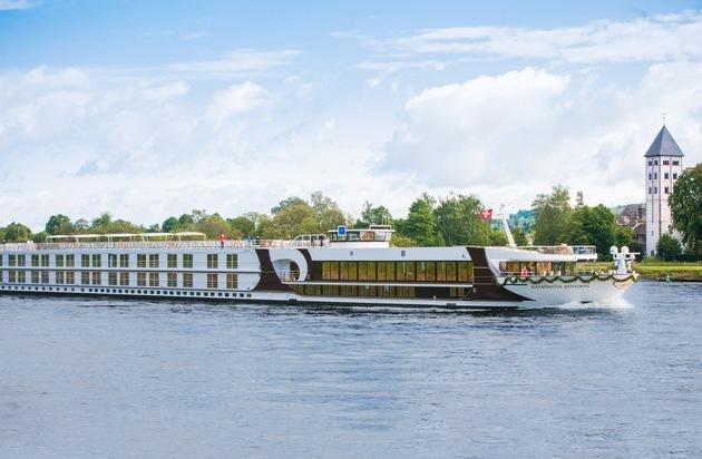 Reisebüro Mittelthurgau Fluss- und Kreuzfahrten: Das Schweizer Schiff Excellence Princess ist bestes Flussschiff des Jahres
