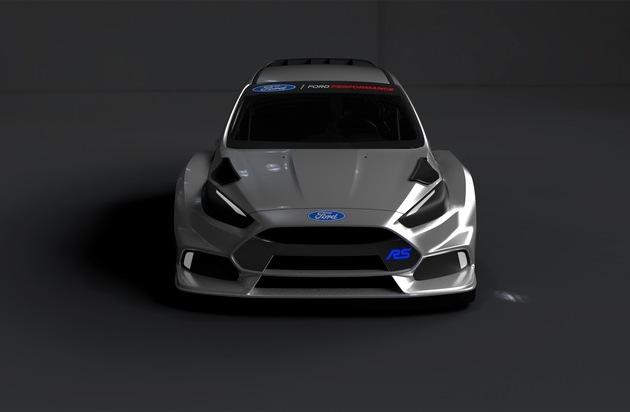 Ford-Werke GmbH: Ford Performance mit neuem Ford Focus RS und Ken Block in der RallyCross-WM am Start