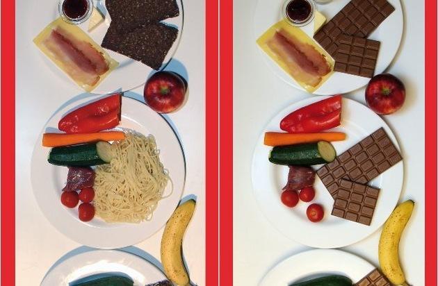 Caveman Verlag UG: Offizielle Ernährungsempfehlung: 5 Tafeln Schokolade pro Tag in Form von Vollkorn / Faktenreiche und sachliche Kritik im neuen Buch durch Autor Klaus Wührer