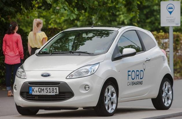 Ford-Werke GmbH: Ford-Umfrage: Viele Europäer wären bereit, ihr Auto gegen eine Gebühr zu verleihen, sogar ihr Zuhause und ihren Hund
