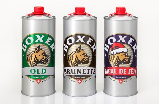 BRASSERIE BOXER: Nouveauté à la Bière du Boxer / une canette de 2 litres pour les grandes soifs ...