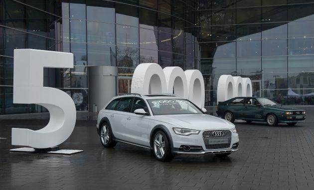 Fünf Millionen Mal Audi quattro-Antrieb - Siegeszug einer überlegenen Technologie