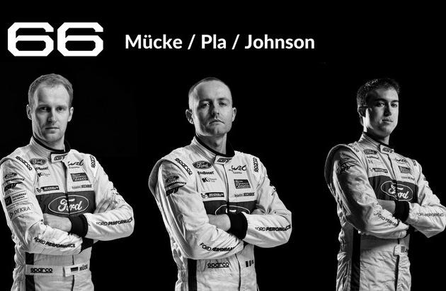 Ford-Werke GmbH: Das 24 Stunden-Rennen von Le Mans: alle Ford Werksfahrer im Porträt