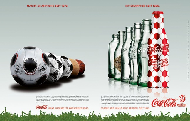 Coca-Cola: Von Anfang an einzigartig
