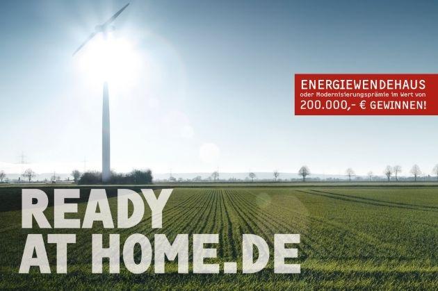 """STIEBEL ELTRON startet Kampagne """"Ready at Home"""" / Gewinnspiel: Energiewendehaus oder 200.000 Euro gewinnen"""