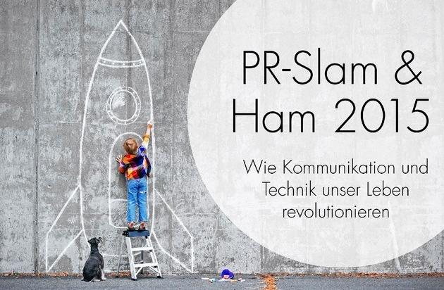 """news aktuell GmbH: Weltraumfahrer, Zukunftsforscher und Slam Poetry - Neue Veranstaltungsreihe """"PR-Slam & Ham 2015"""" von news aktuell"""