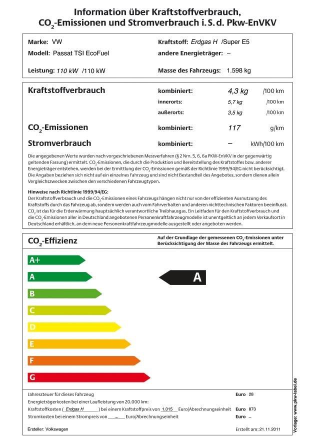 Ko label f r pkw erdgasfahrzeuge im gr nen bereich mit bild crop 0 0
