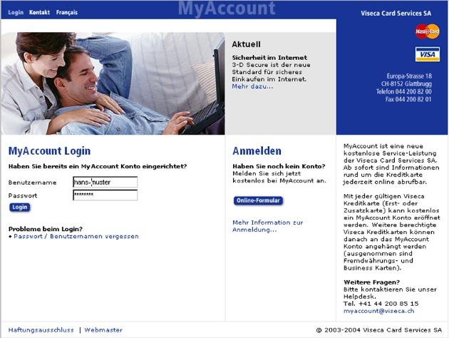Viseca Card Services SA: Ausgaben jederzeit online unter Kontrolle