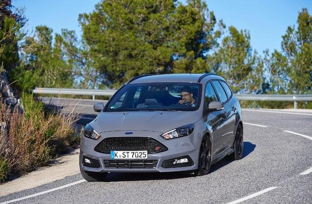 Ford-Werke GmbH: Neuer Ford Focus ST: Fahrspaß mit Power, Effizienz und fortschrittlichen Technologien - erstmals auch als Diesel