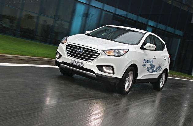 HYUNDAI SUISSE Korean Motor Company, Kontich (B): Hyundai lance la première voiture de série à hydrogène livrable en Suisse