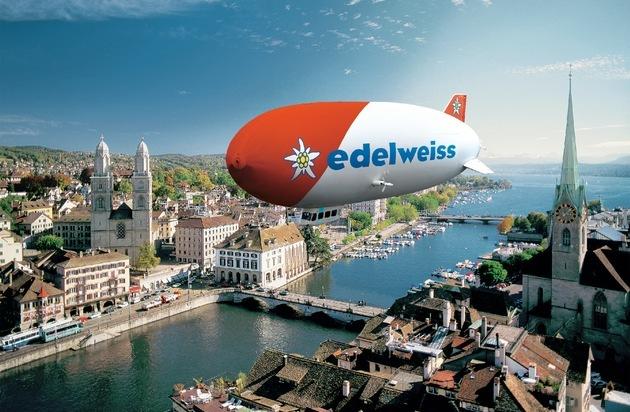Edelweiss Air AG: Der Edelweiss Zeppelin auf Schweizer Tour