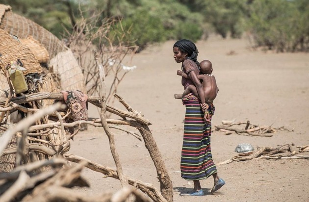 Stiftung Menschen für Menschen Schweiz: Dürrekatastrophe in Äthiopien: Menschen für Menschen Schweiz startet Nothilfe