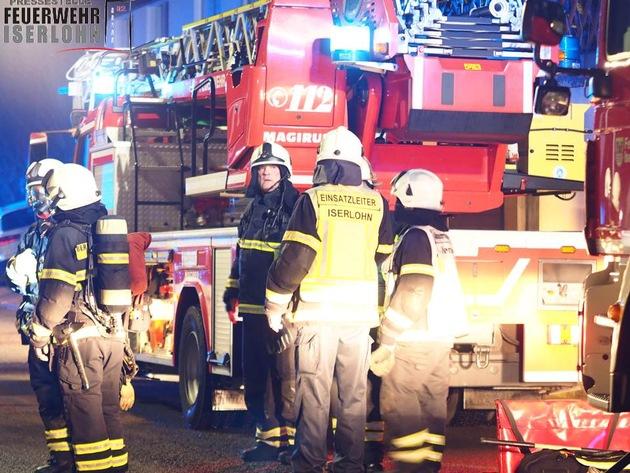FW-MK: Brand in einem Keller