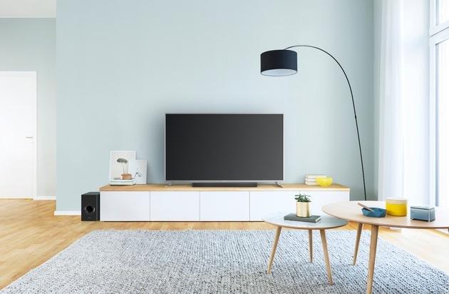 BILD: Panasonic Soundbars SC-HTB688 und HTB494 / Heimkino, TV und Musik im Panasonic Stil genießen (FOTO)