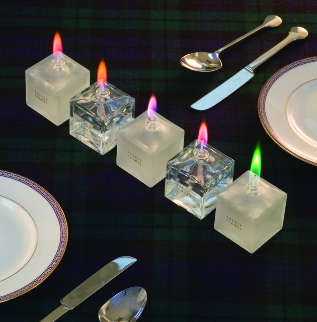 Geschenk des Jahres 2005 in London - Farbflammen jetzt exklusiv bei www.bb-lifestyle.com