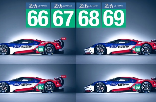 Ford-Werke GmbH: Offizielle Bestätigung: Ford GT startet 2016 in Le Mans - genau 50 Jahre nach dem historischen Dreifachsieg