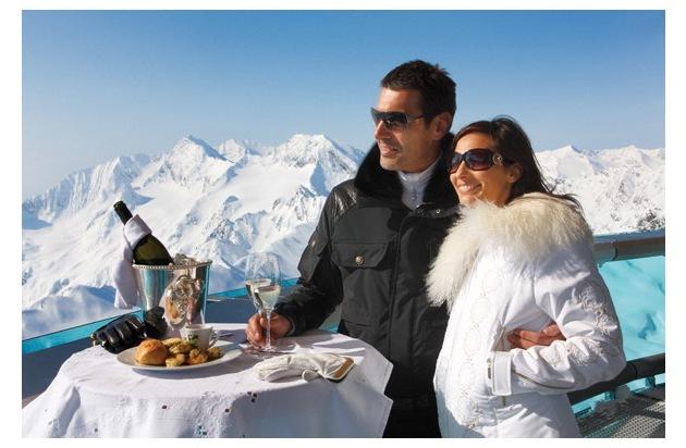 """Die """"best of obergurgl"""" Hotels laden zum genussvollsten Oster-Skilauf der Alpen mit 100 Prozent Schnee-Garantie - BILD"""