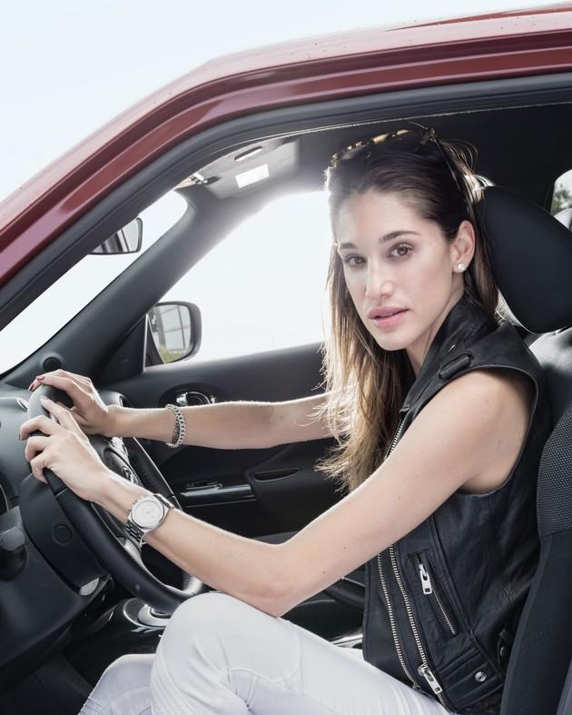 Bianca Gubser, nouvelle ambassadrice de la marque Nissan en Suisse